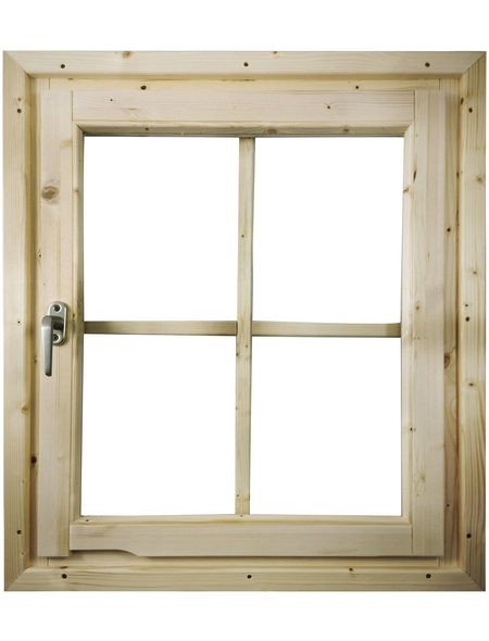 KARIBU Fenster für Gartenhäuser  »28 mm«, B x L x H: 79,5  x 69  x 6  cm