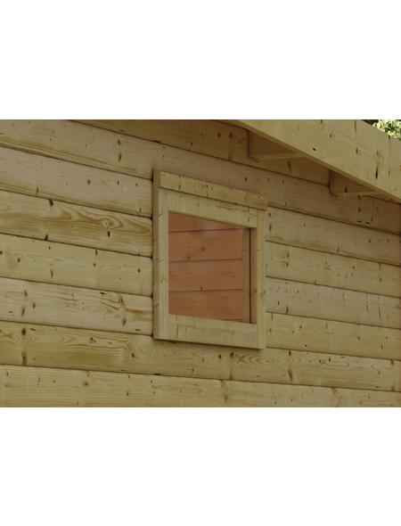 KARIBU Fenster für Gartenhäuser  »38 mm«, Holz