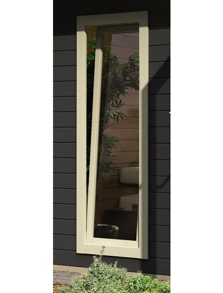 KARIBU Fenster für Gartenhäuser  »Cube«, Holz