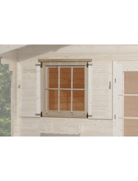 WEKA Fenster für Gartenhäuser, Holz/Glas