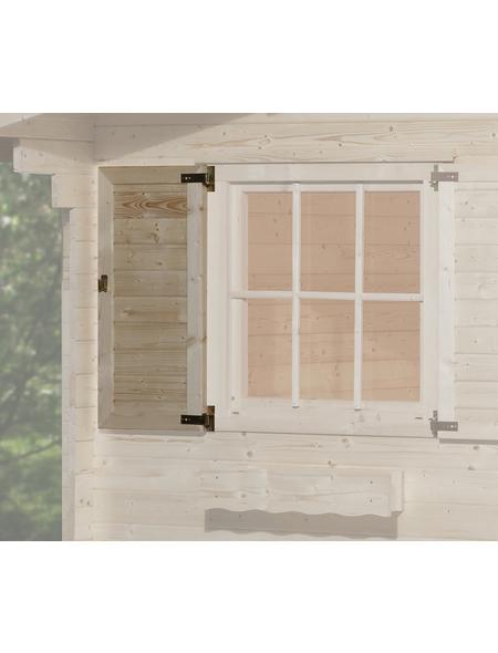 WEKA Fensterladen für Gartenhäuser, Holz
