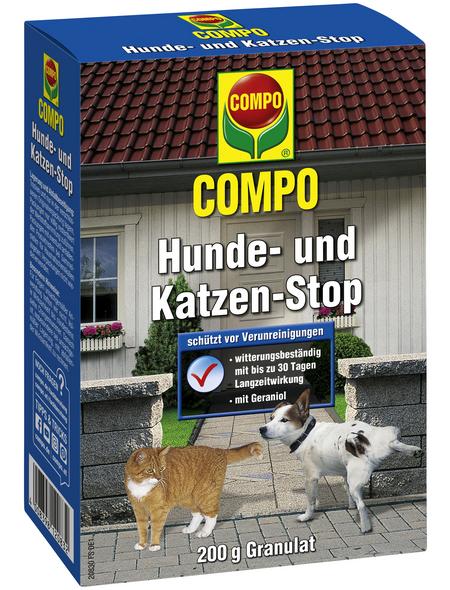 COMPO Fernhaltemittel »Hunde- und Katzen-Stop«, Granulat, 200 g