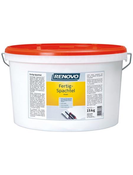 RENOVO Fertigspachtel weiß 15 kg