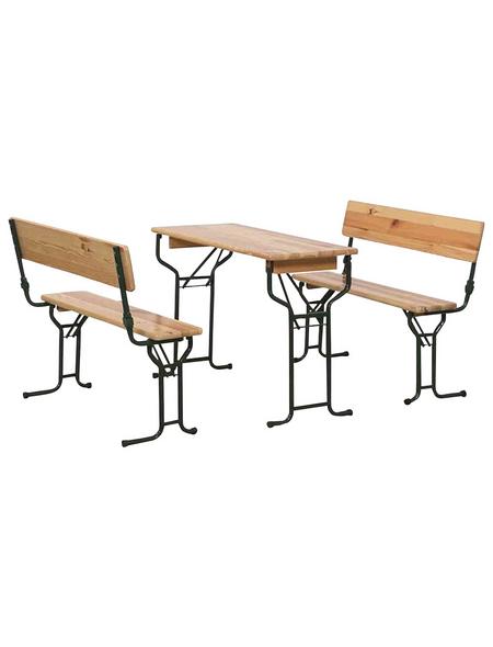 SIENA GARDEN Festzeltgarnitur, 4 Sitzplätze