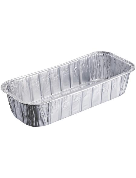 WEBER Fett-Auffangschale, Aluminium, 10 Stück