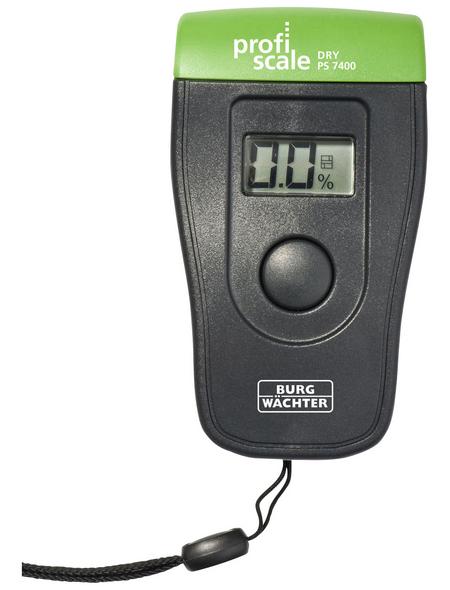 BURG WÄCHTER Feuchtemessgerät »DRY PS 7400«, grau/gruen