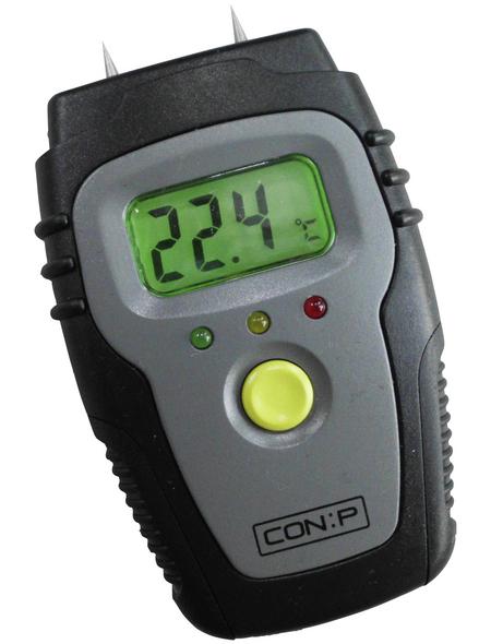 CON:P Feuchtigkeitsmesser »B29820«, grau/schwarz