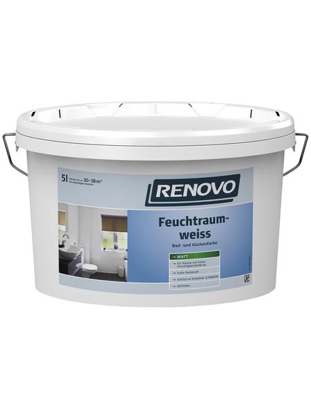 RENOVO Feuchtraumfarbe ca. 30-38 m² m² f