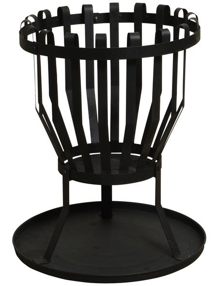 BUSCHBECK Feuerkorb »Alberta«, Ø 43 cm, Höhe: 51  cm, schwarz