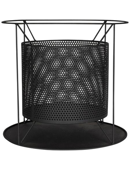 BUSCHBECK Feuerkorb »Kora«, Ø 44 cm, Höhe: 41  cm, schwarz