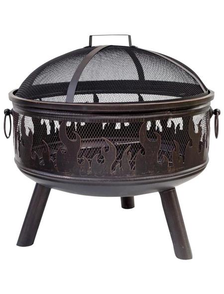 BUSCHBECK Feuerschale »Wildfire«, Ø 61 cm, Höhe: 61 cm, bronzefarben