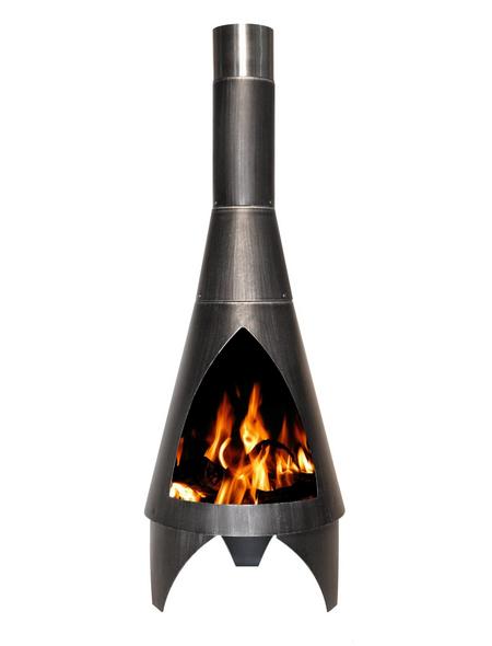 BUSCHBECK Feuerstelle »Colorado«, Ø 60 cm, Höhe: 160  cm, schwarz, pulverbeschichtet