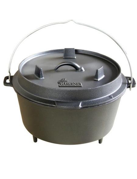 MR. GARDENER Feuertopf »Dutch-Oven L«, Grillfläche: Ø 31,5 cm