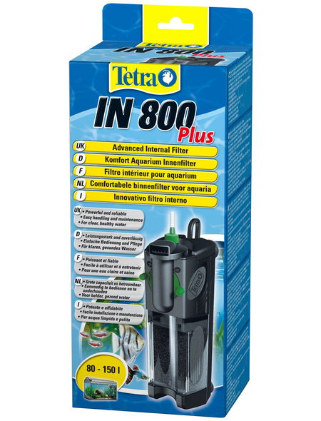 TETRA Filter »Innenfilter IN Plus«, 12 W, für Aquarien bis: 150 l, schwarz