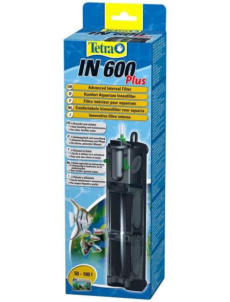 TETRA Filter »Innenfilter IN Plus«, 8 W, für Aquarien bis: 100 l, schwarz