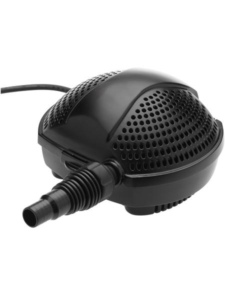 PONTEC Filter- und Bachlaufpumpe »PondoMax «, 140 W, Fördermenge: 13400 l/h