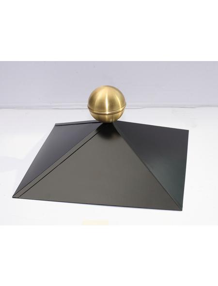 SKANHOLZ Firstkappe, 78,5 cm, schwarz