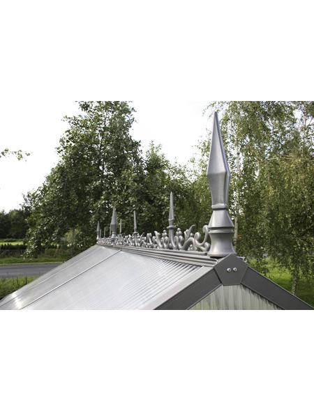 KGT Firstverzierung »alle KGT-Gewächshäuser (außer Flora und Rhodo)«, B x L x H: 10  x 300  x 30  cm