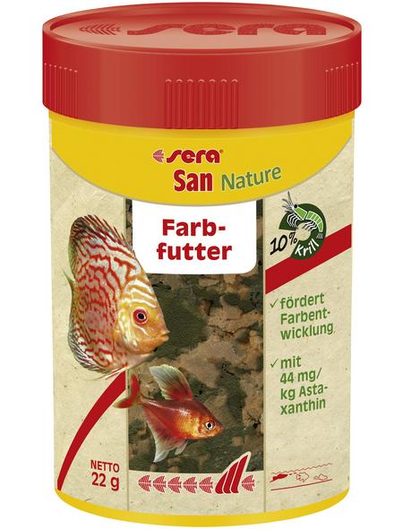 sera Fisch-Farbfutter »San Nature«, Aqua, 100ml