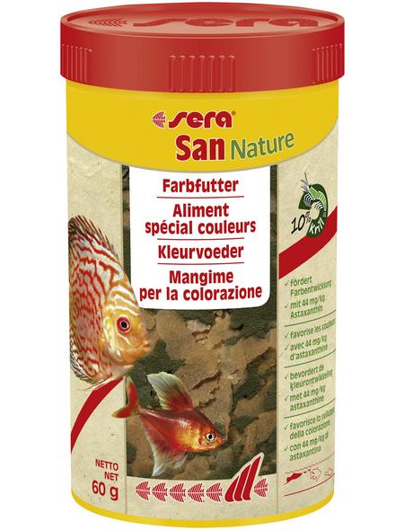sera Fisch-Farbfutter »San Nature«, Aqua, 250ml