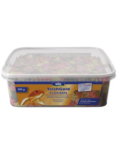 SÖLL Fischfutter Teich-Gold® Futterflocken Garnelen 300 g