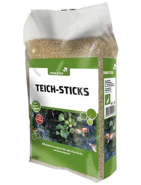 INTERQUELL Fischfutter »Teich-Sticks«, 1 Sack à 15 g