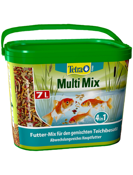 TETRA Fischfutter »Tetra Pond MultiMix«, 7 l, 1300 g