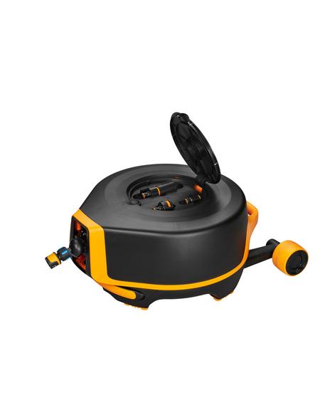 FISKARS Fiskars WaterWheel, Automatik XL mit Rädern, 360 Grad