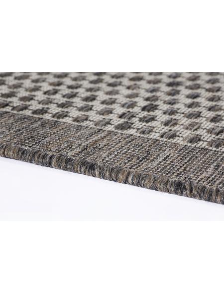 ANDIAMO Flachgewebe-Teppich »Savannah«, BxL: 120 x 170 cm, braun