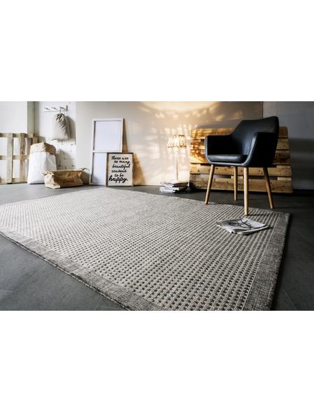 ANDIAMO Flachgewebe-Teppich »Savannah«, BxL: 160 x 230 cm, hellbraun