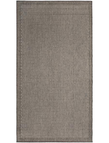 ANDIAMO Flachgewebe-Teppich »Savannah«, BxL: 80 x 150 cm, braun