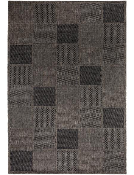 ANDIAMO Flachgewebe-Teppich »Utah«, BxL: 120 x 170 cm, taupe