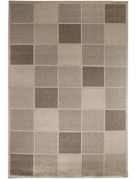 ANDIAMO Flachgewebe-Teppich »Utah«, BxL: 57 x 110 cm, beige