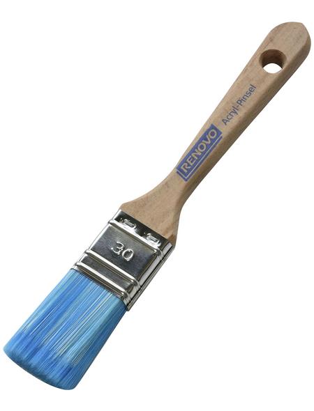 RENOVO Flachpinsel Lack, 3 cm, Kunstfaser | FILLPRO
