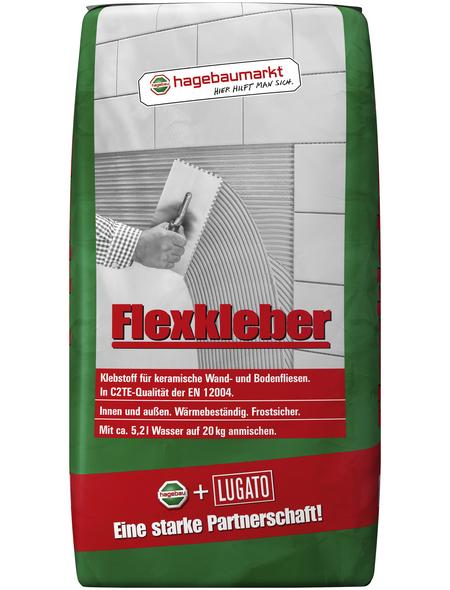 Flexkleber, 20 kg, für keramische Wand- und Bodenfliesen