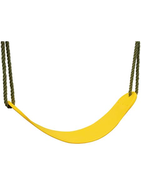 AKUBI Flexschaukel, BxHxL: 67 x 1 x 14 cm, gelb