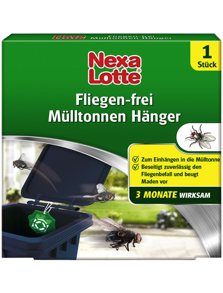 NEXA LOTTE Fliegen Hänger für die Mülltonne , 1 Stück