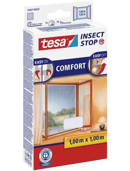 TESA Fliegengitter »COMFORT «, Format: 100x100 cm, ja