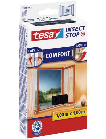 TESA Fliegengitter »COMFORT«, Format: 100x100 cm, ja