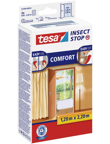 TESA Fliegengitter »COMFORT «, Format: 65x220 cm, ja