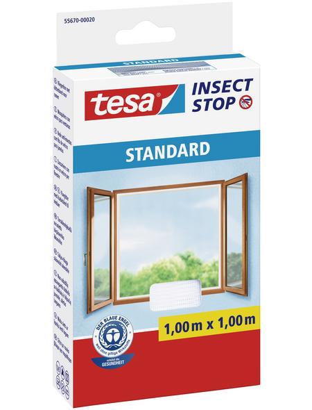 TESA Fliegengitter »STANDARD «, Format: 100x100 cm, ja