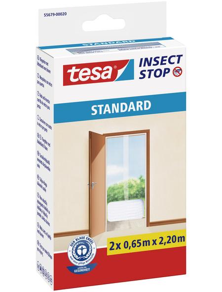 TESA Fliegengitter »STANDARD «, Format: 65x220 cm, ja