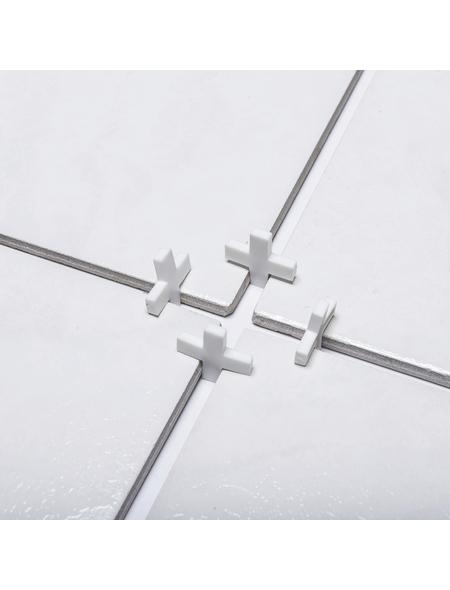 CONNEX Fliesenkreuz, Kunststoff, weiß,8mm,200St.