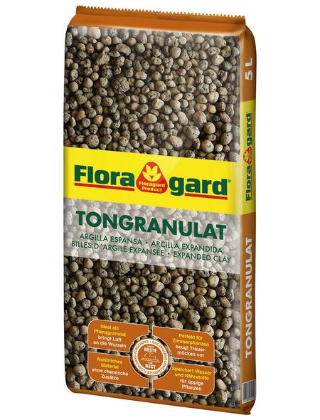 Floragard Tongranulat Braun 5 l
