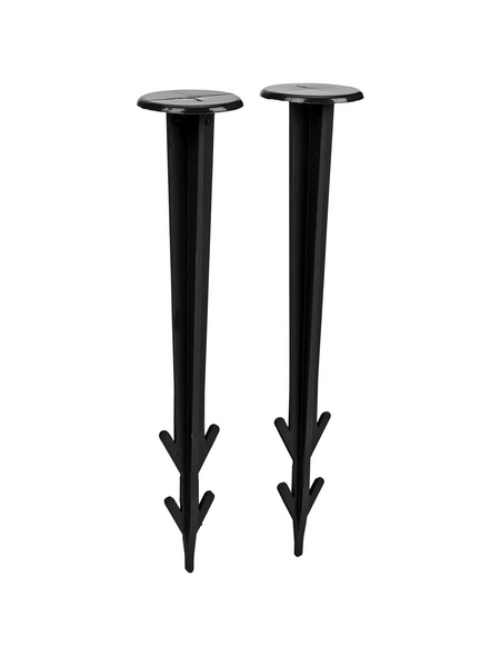 WINDHAGER Folien- und Vlieshalter, Höhe: 11,5 cm, Kunststoff, 10 Stück