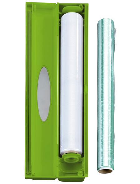 WENKO Folienschneider, Kunststoff (ABS), grün