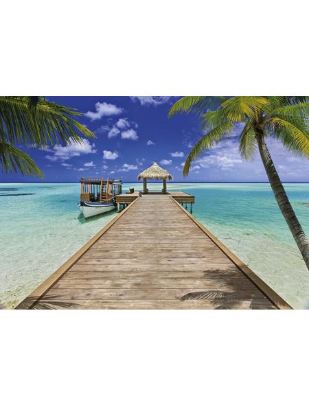 KOMAR Foto-Papiertapete »Beach Resort«, Breite 368 cm, inkl. Kleister