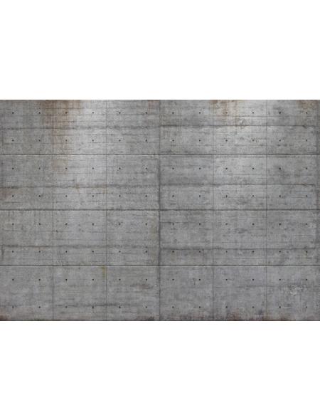 KOMAR Foto-Papiertapete »Concrete Blocks«, Breite 368 cm, inkl. Kleister
