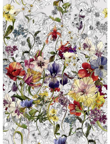 KOMAR Foto-Papiertapete »Flora«, Breite 184 cm, inkl. Kleister