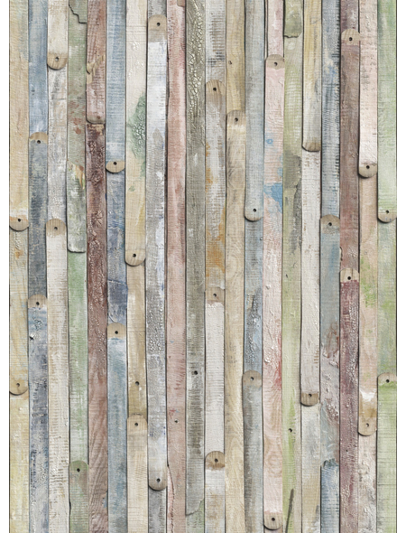 KOMAR Foto-Papiertapete »Vintage Wood«, Breite 184 cm, inkl. Kleister